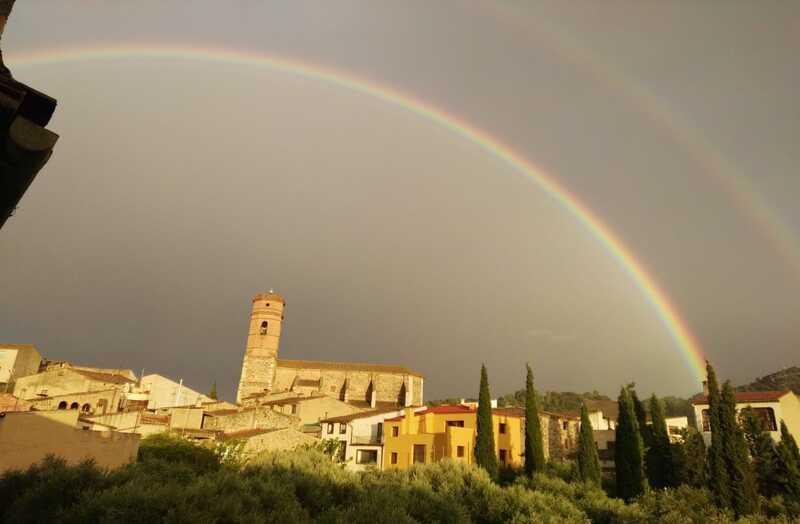 Arc de Sant Martí doble a Poboleda, Priorat, Catalunya