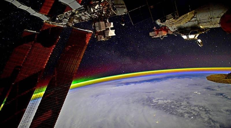 Arc de sant martí vist des de l'espai