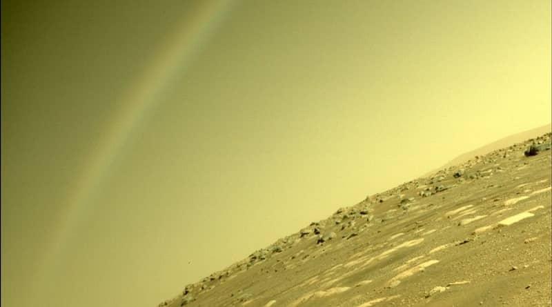 arc de sant marti a mart. Foto de la NASA