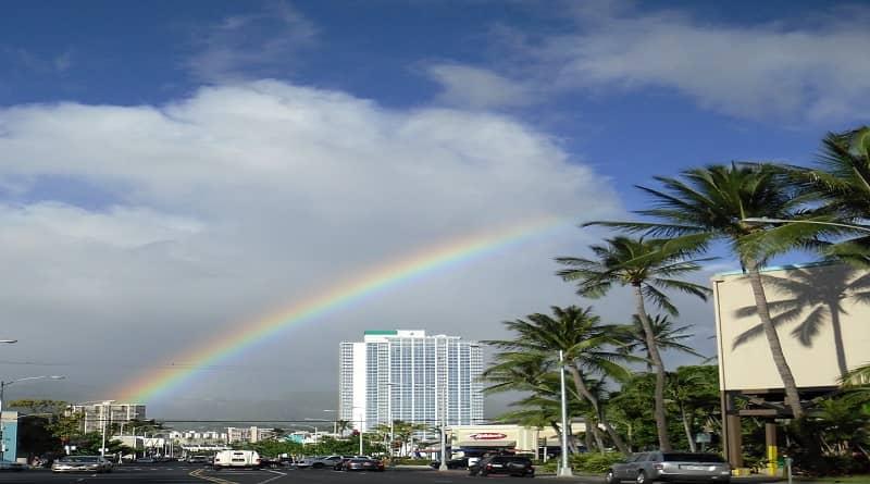 A Hawai és on es veuen més arcs de Sant Martí.