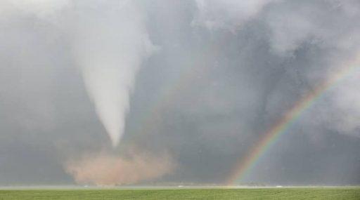 Arc de Sant Martí amb tornado a Texas